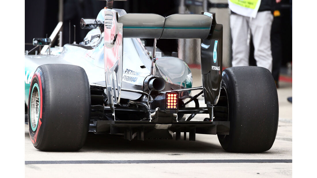 Nico Rosberg - Mercedes - Formel 1-Test - Spielberg - 24. Juni 2015