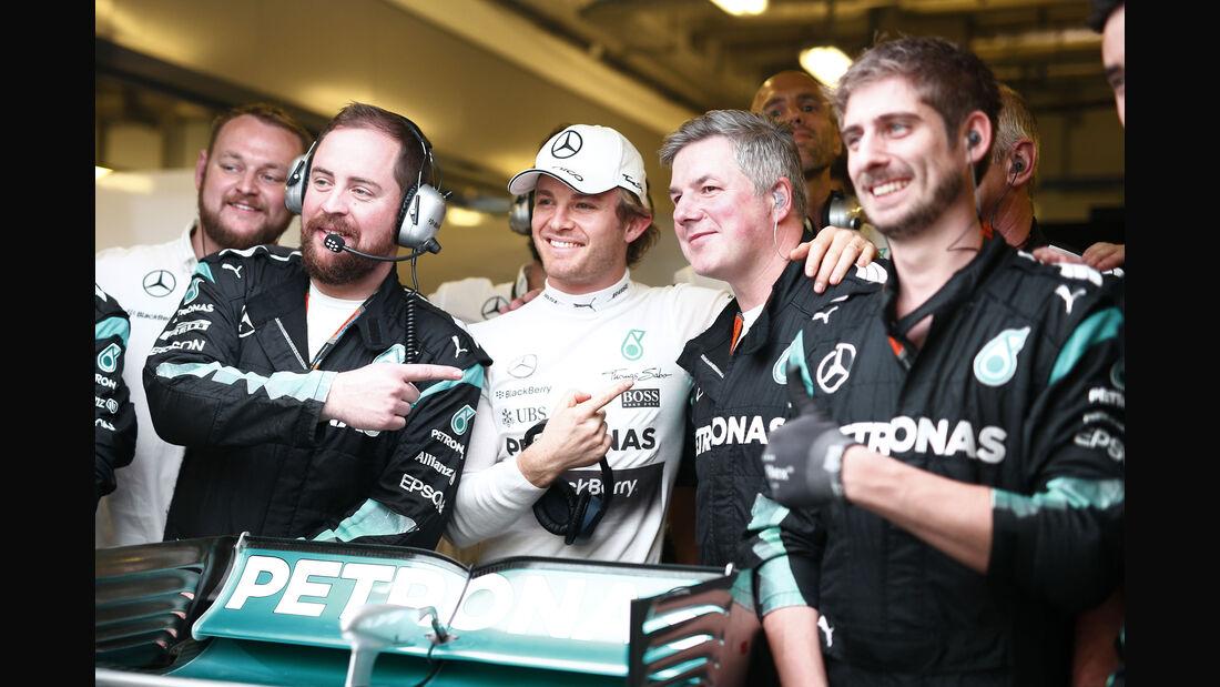 Nico Rosberg - Mercedes - GP Abu Dhabi 2015