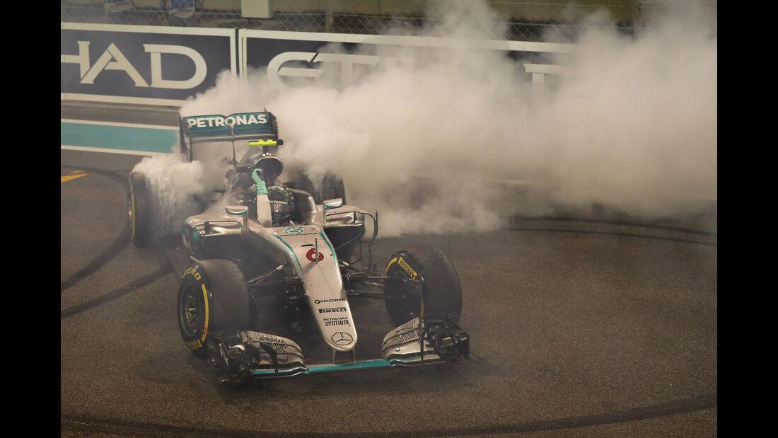 Nico Rosberg - Mercedes - GP Abu Dhabi 2016