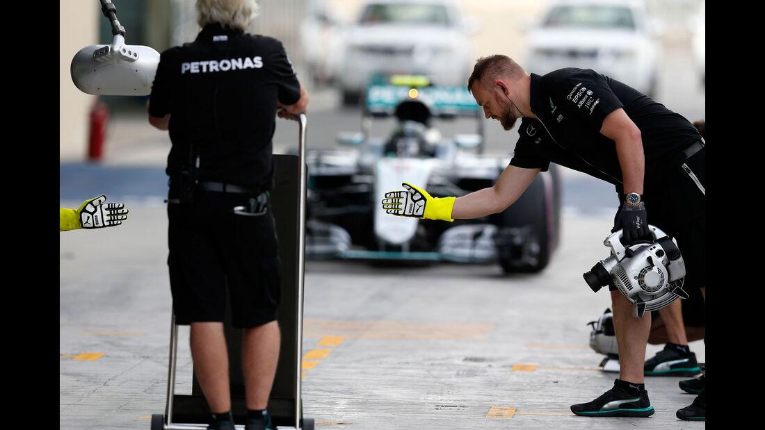Nico Rosberg - Mercedes - GP Abu Dhabi 2016 - Formel 1