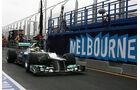 Nico Rosberg Mercedes GP Australien 2012