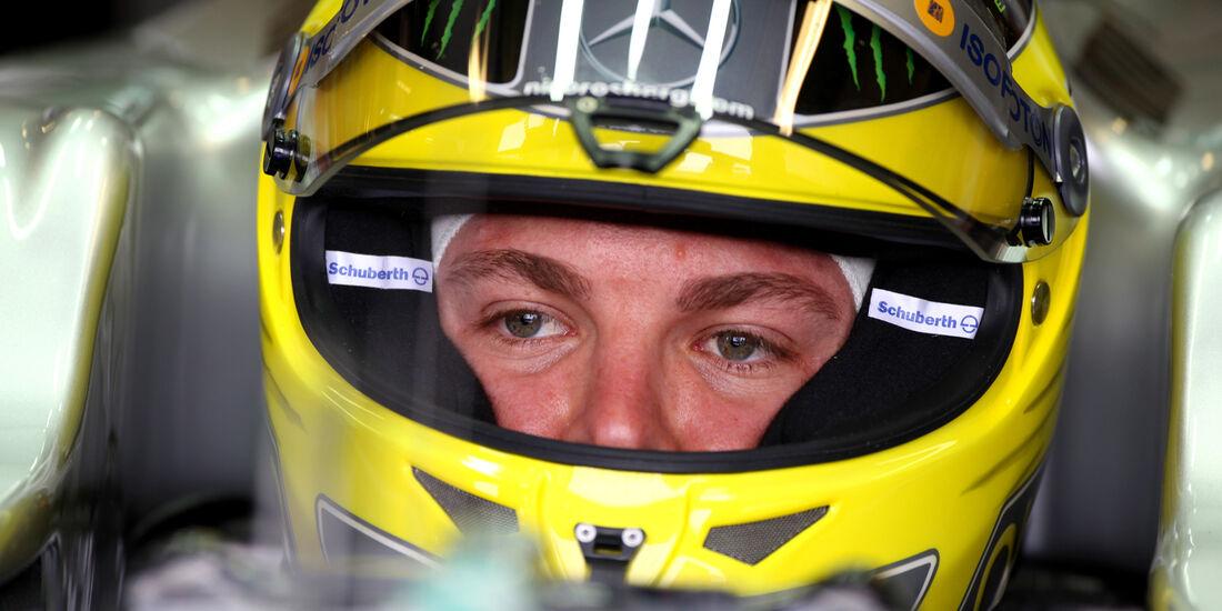 Nico Rosberg - Mercedes - GP Australien - Melbourne - 16. März 2012