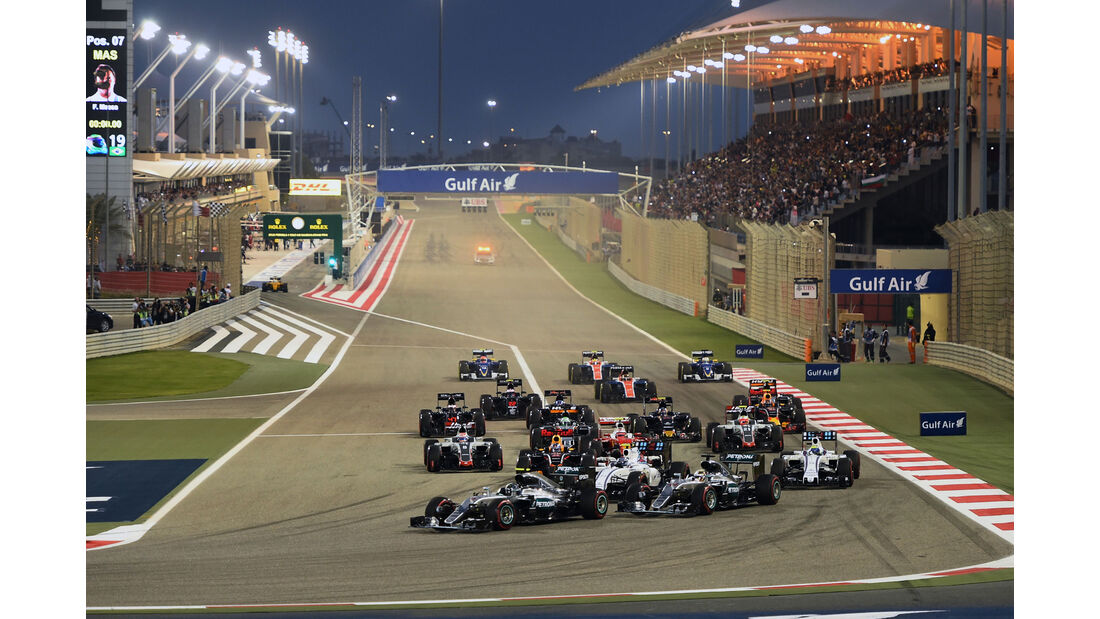 Nico Rosberg - Mercedes - GP Bahrain 2016