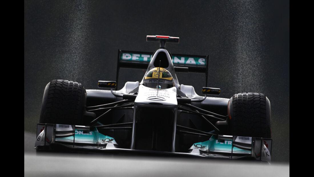 Nico Rosberg Mercedes GP Belgien 2011