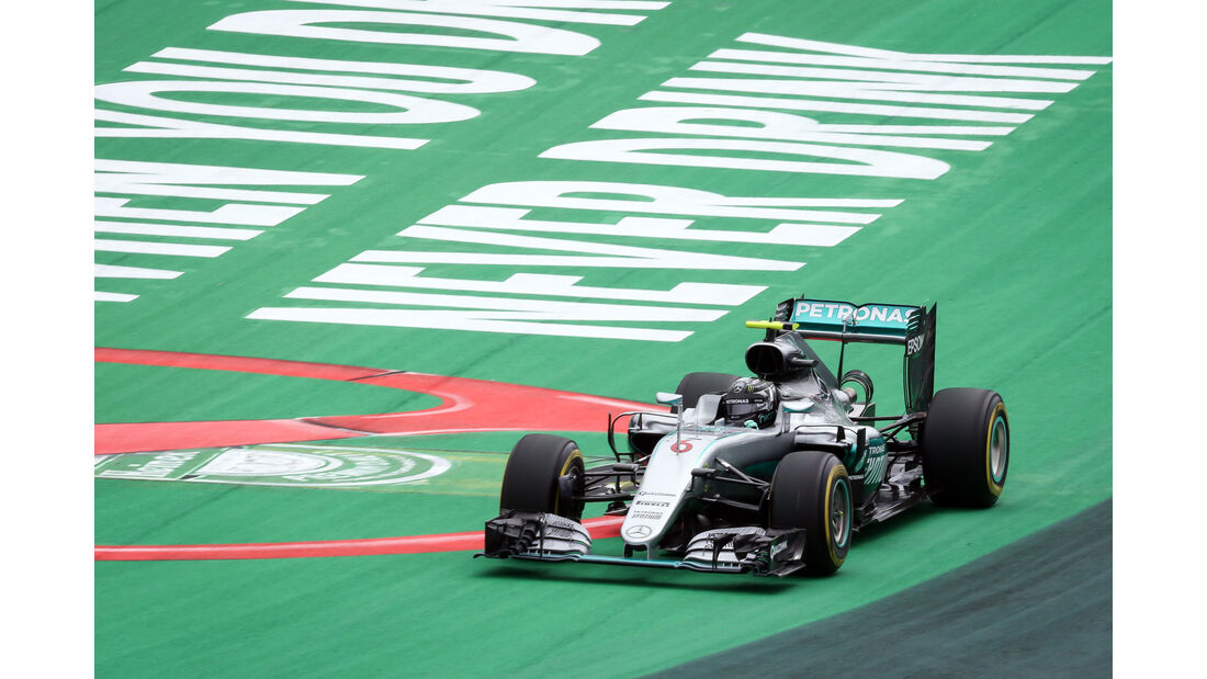 Nico Rosberg - Mercedes - GP Brasilien 2016 - Interlagos - Qualifying