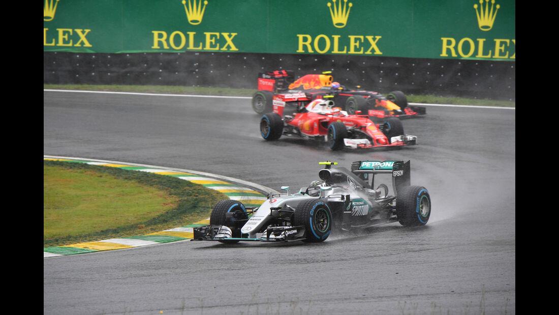 Nico Rosberg - Mercedes - GP Brasilien 2016 - Interlagos - Rennen