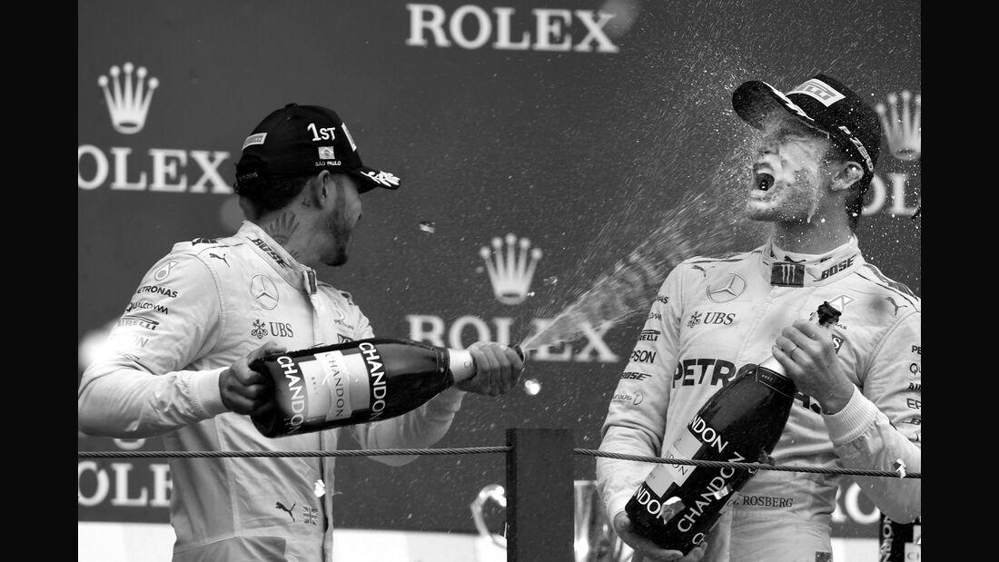 Nico Rosberg - Mercedes - GP Brasilien 2016