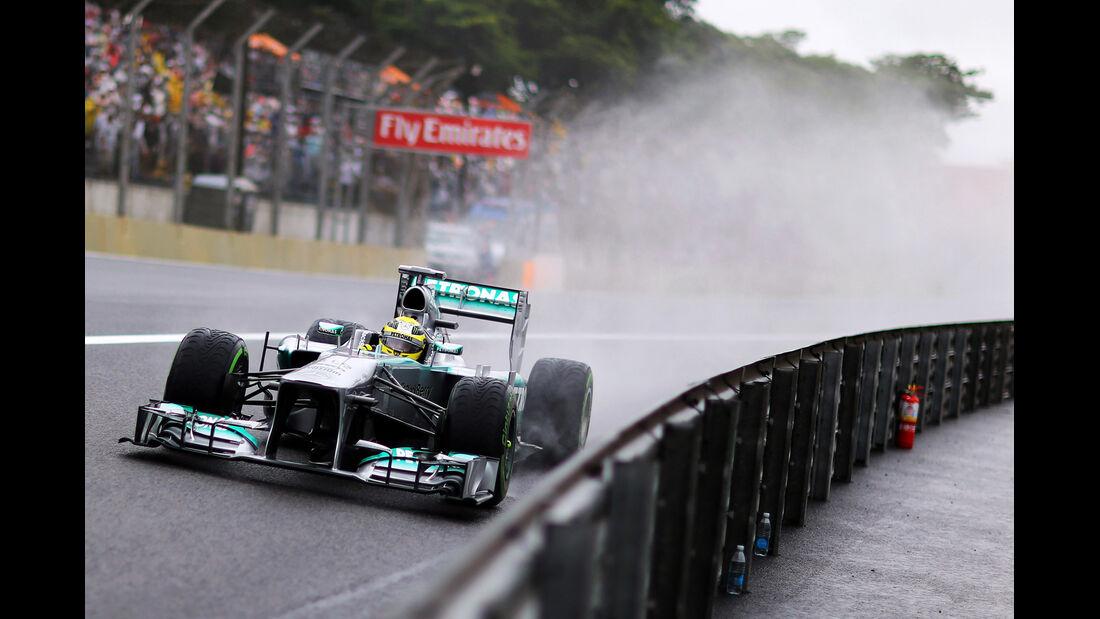 Nico Rosberg - Mercedes - GP Brasilien - 23. November 2013