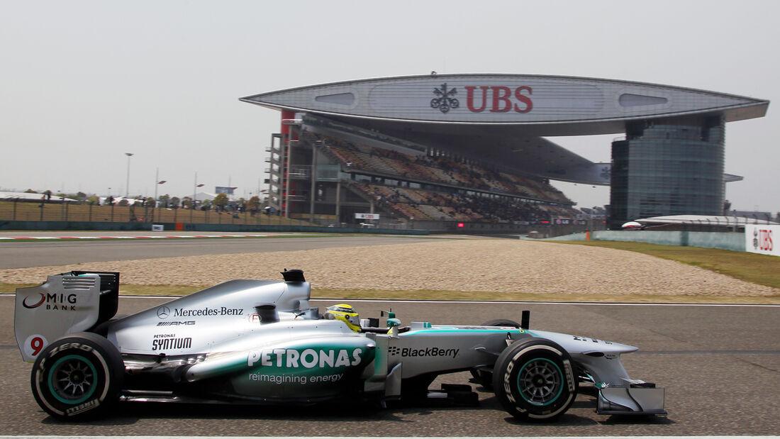 Nico Rosberg - Mercedes - GP China 2013