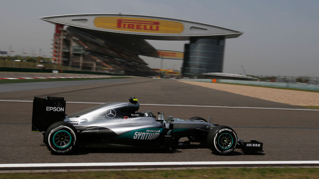 Nico Rosberg - Mercedes - GP China 2016 - Shanghai - Freitag - 15.4.2016