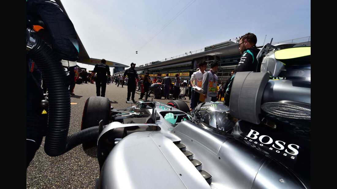 Nico Rosberg - Mercedes - GP China 2016 - Shanghai - Rennen