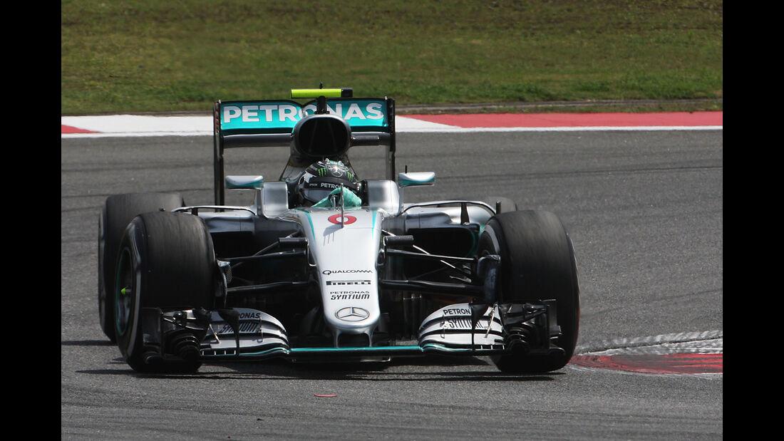 Nico Rosberg - Mercedes - GP China - Shanghai - Freitag - 15.04.2016