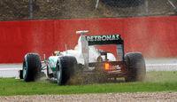 Nico Rosberg Mercedes GP England 2012