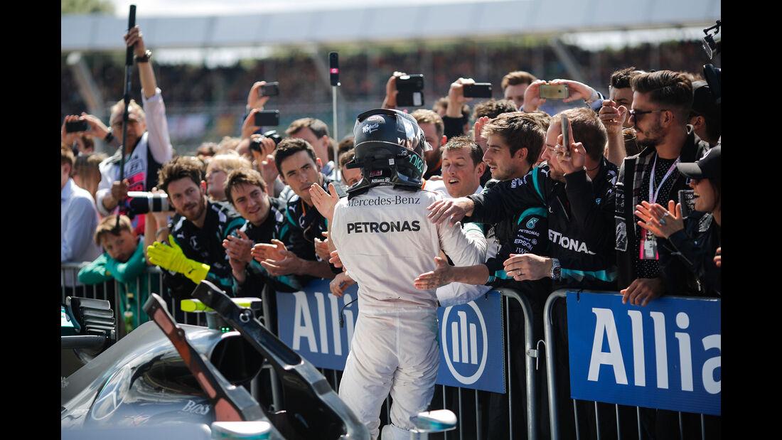 Nico Rosberg - Mercedes - GP England 2016 - Silverstone - Rennen