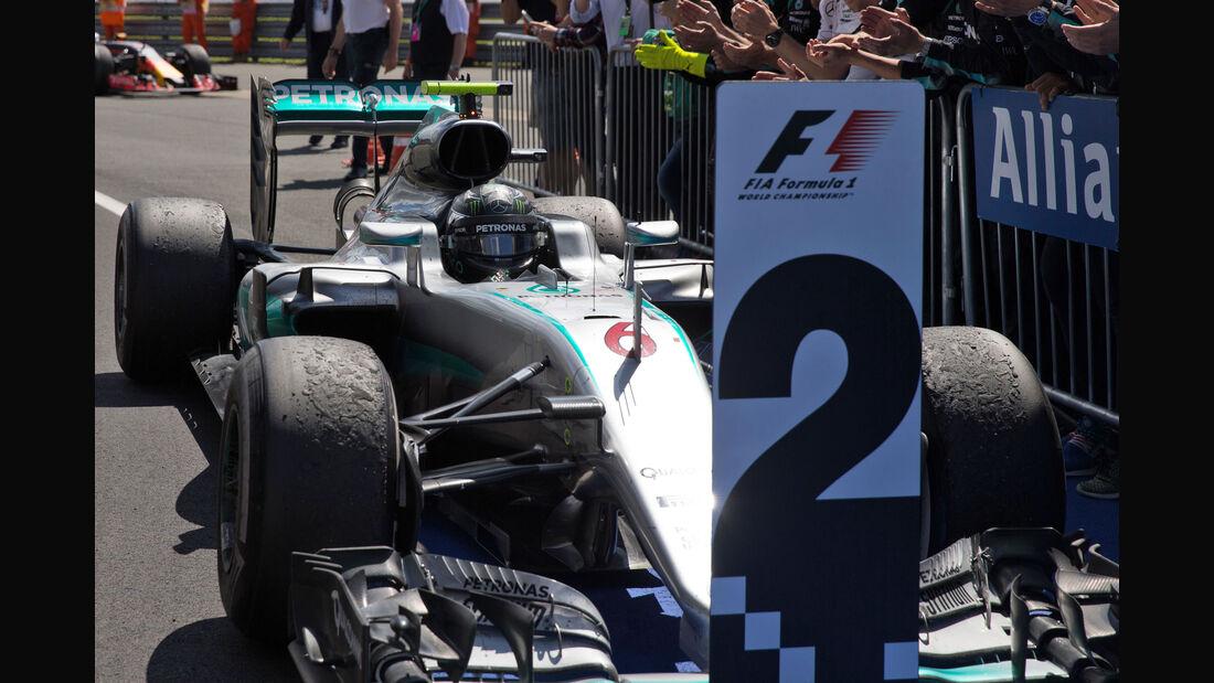 Nico Rosberg - Mercedes - GP England 2016