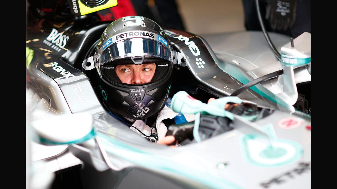 Nico Rosberg - Mercedes - GP England - Silverstone - Qualifying - Samstag - 4.7.2015