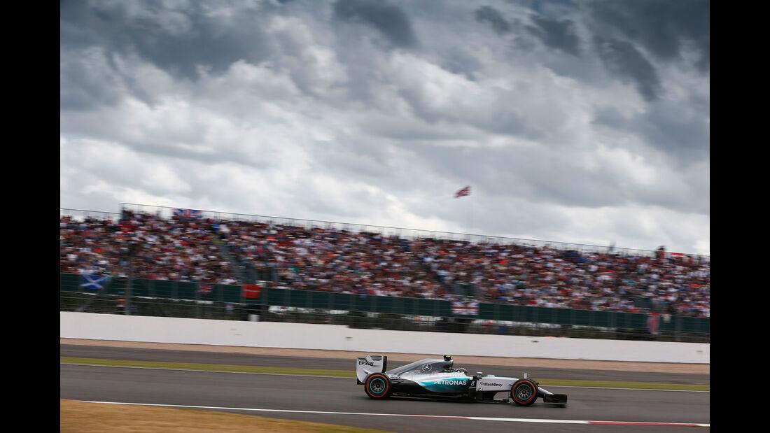 Nico Rosberg - Mercedes - GP England - Silverstone - Rennen - Sonntag - 5.7.2015