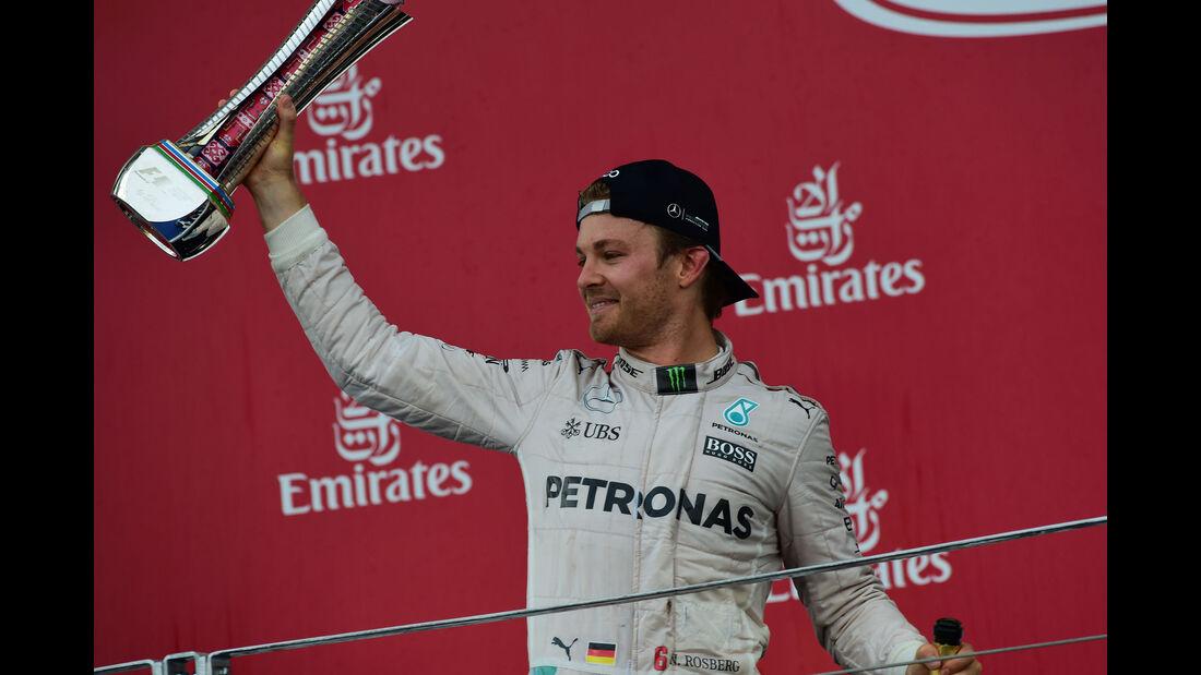 Nico Rosberg - Mercedes - GP Europa 2016