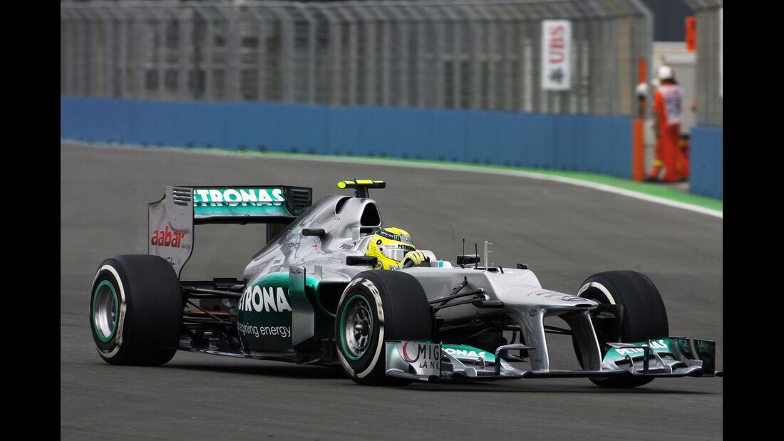 Nico Rosberg - Mercedes - GP Europa - Formel 1 - Valencia - 22. Juni 2012