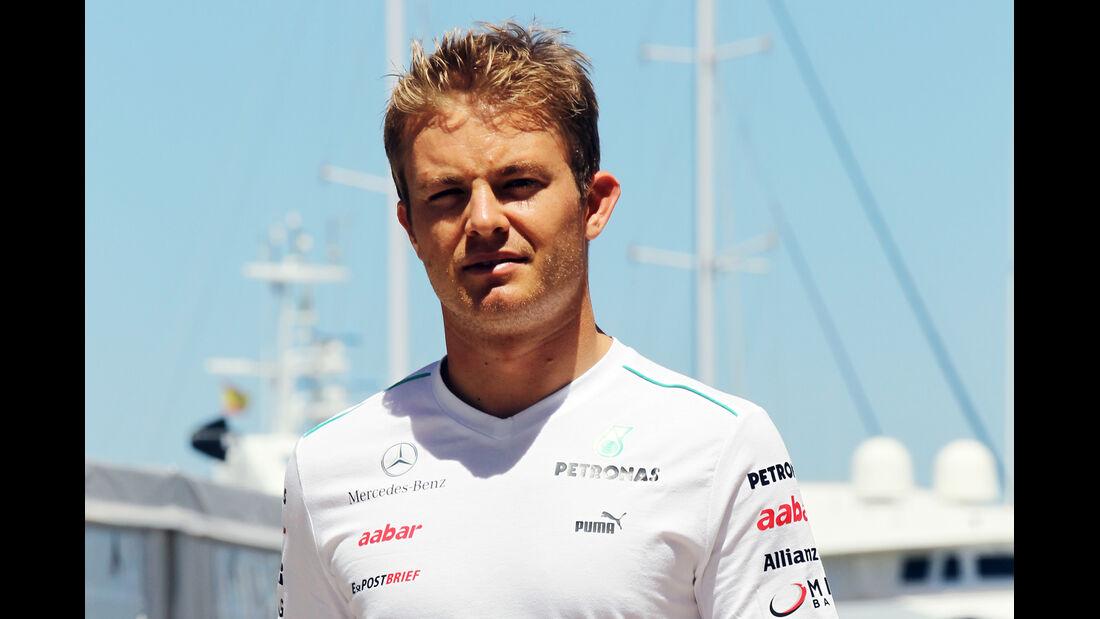 Nico Rosberg - Mercedes - GP Europa - Valencia - 21. Juni 2012
