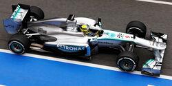 Nico Rosberg, Mercedes GP, Formel 1-Test, Barcelona, 19.2.2013