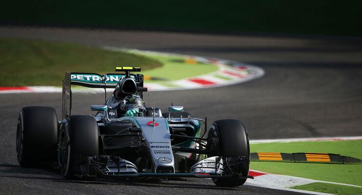 Nico Rosberg - Mercedes - GP Italien - Monza - Freitag - 4.9.2015