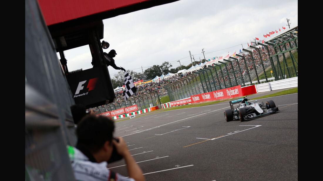 Nico Rosberg - Mercedes - GP Japan 2016