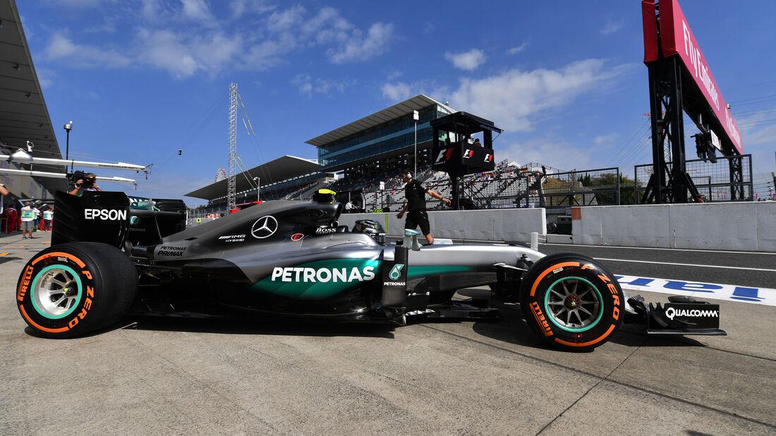 Nico Rosberg - Mercedes - GP Japan - Suzuka - Freitag - 7.10.2016