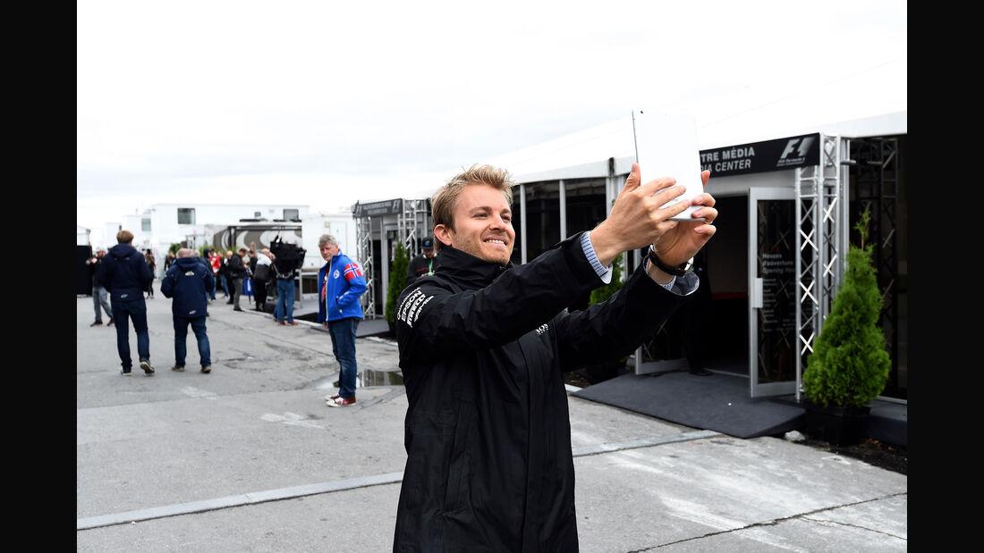Nico Rosberg - Mercedes - GP Kanada - Montreal - 9.6.2016