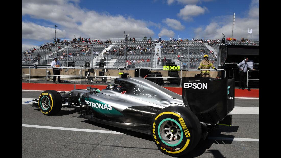 Nico Rosberg - Mercedes - GP Kanada - Montreal - Freitag - 10.6.2016