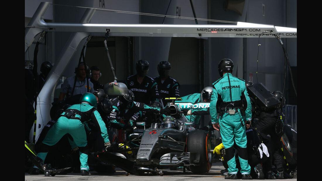 Nico Rosberg - Mercedes - GP Malaysia 2015 - Formel 1
