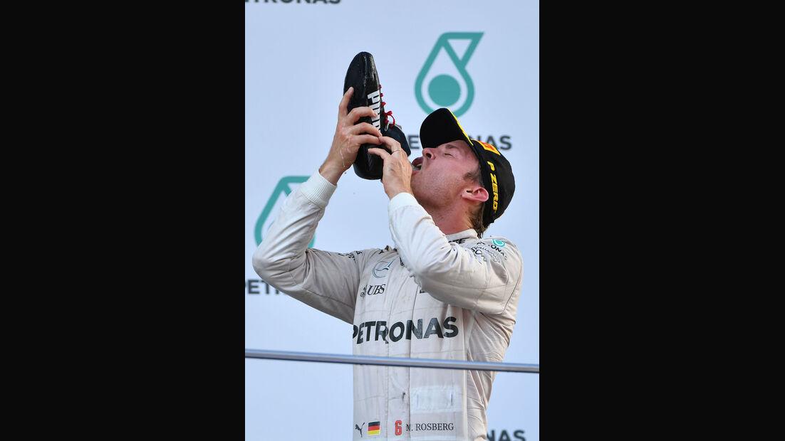 Nico Rosberg - Mercedes - GP Malaysia 2016