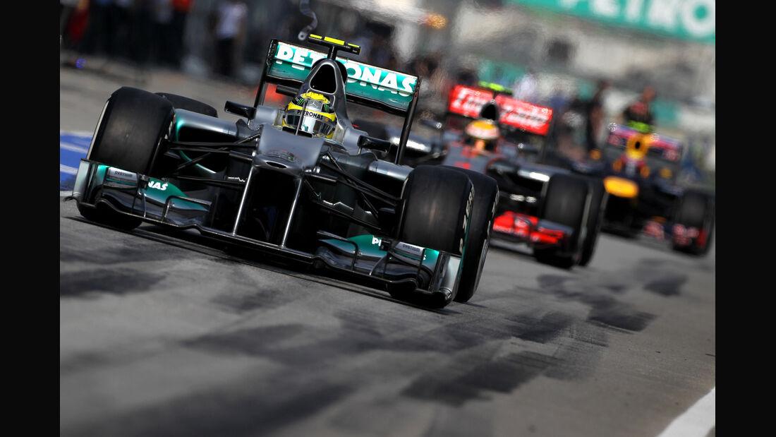 Nico Rosberg - Mercedes - GP Malaysia - 24. März 2012
