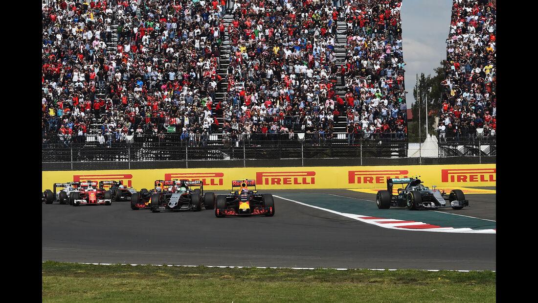 Nico Rosberg - Mercedes - GP Mexiko 2016