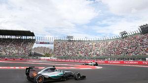Nico Rosberg - Mercedes - GP Mexiko - Freitag - 30.10.2015