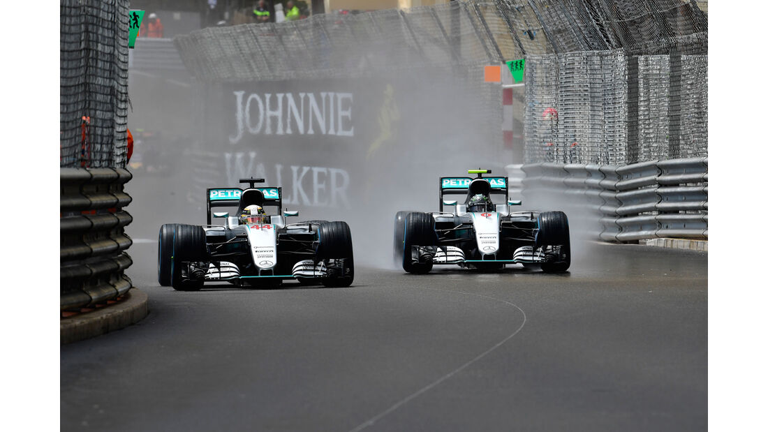 Nico Rosberg - Mercedes - GP Moncaco 2016