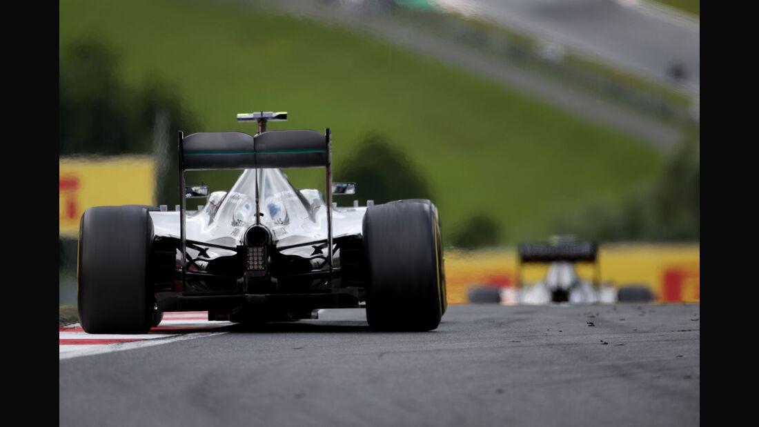 Nico Rosberg - Mercedes - GP Österreich - Formel 1 - Sonntag - 21.6.2015
