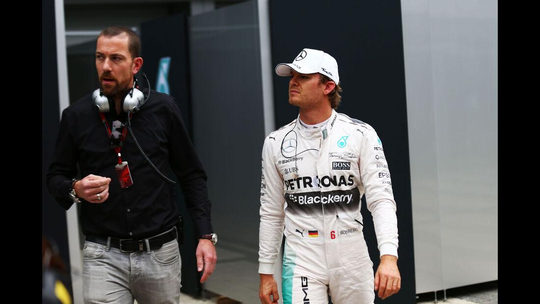 Nico Rosberg - Mercedes - GP Russland 2015 - Sochi - Rennen