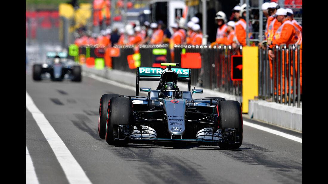Nico Rosberg - Mercedes - GP Russland 2016