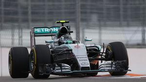Nico Rosberg - Mercedes - GP Russland - Qualifying - Samstag - 10.10.2015