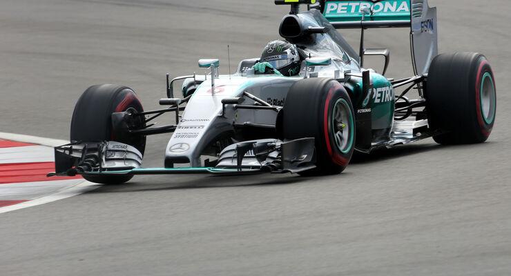 Nico Rosberg - Mercedes - GP Russland - Sochi - Qualifying