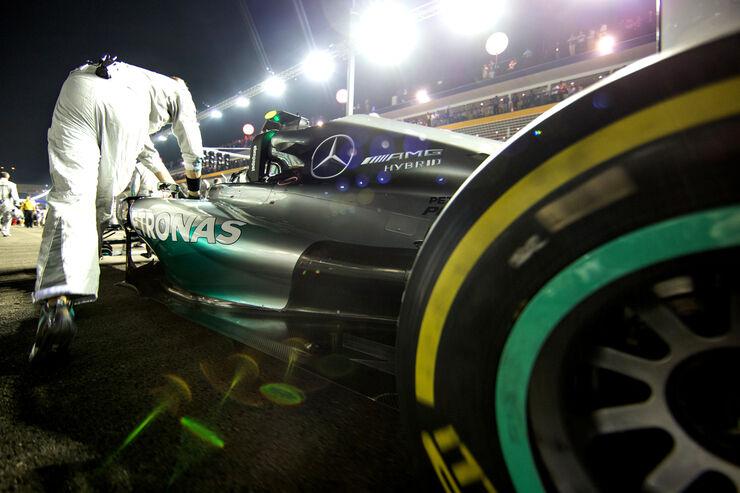 Nico Rosberg - Mercedes - GP Singapur 2014