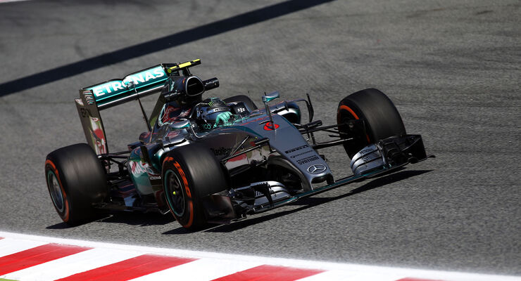 Nico Rosberg - Mercedes - GP Spanien 2015 - Qualifying - Samstag - 9.5.2015