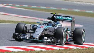 Nico Rosberg - Mercedes - GP Spanien 2015 - Samstag - 9.5.2015