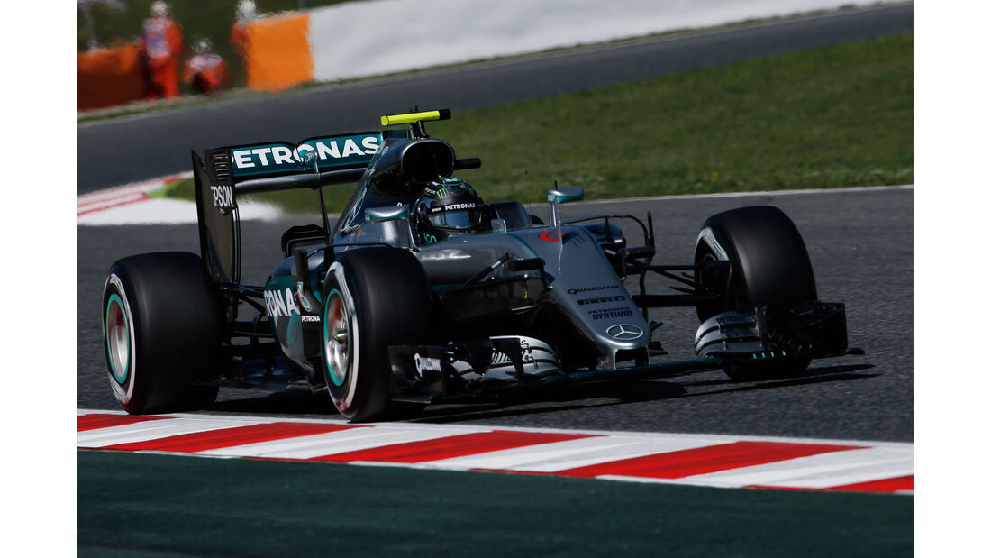 Nico Rosberg - Mercedes - GP Spanien 2016 - Barcelona - F1 - Freitag - 13.5.2016
