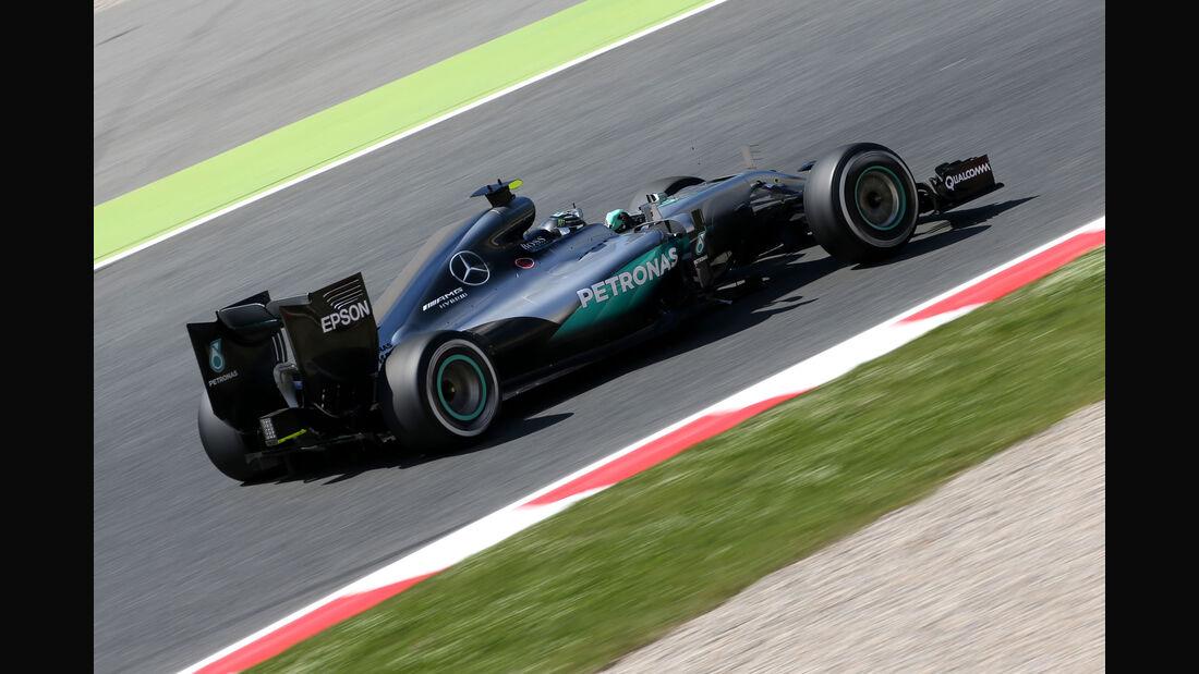 Nico Rosberg - Mercedes - GP Spanien 2016 - Freitag