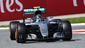 Nico Rosberg - Mercedes - GP Spanien 2016