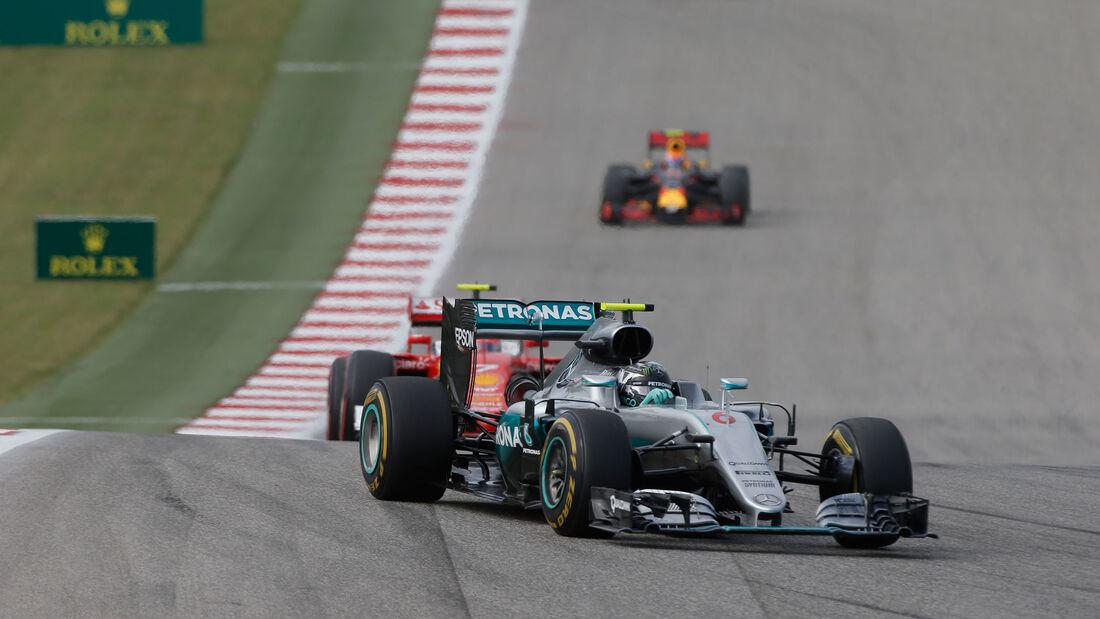 Nico Rosberg - Mercedes - GP USA 2016