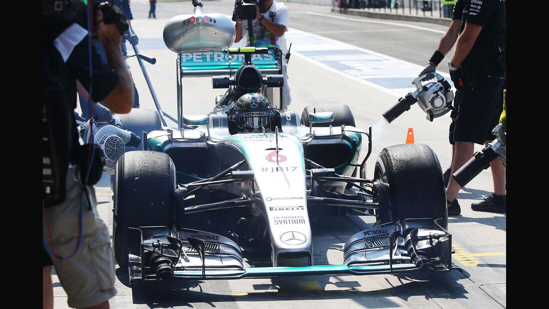 Nico Rosberg - Mercedes - GP Ungarn - Budapest - Freitag - 24.7.2015