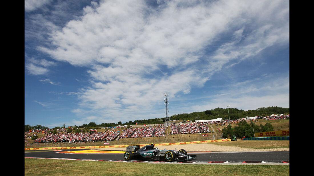Nico Rosberg - Mercedes - GP Ungarn - Budapest - Rennen - Sonntag - 26.7.2015